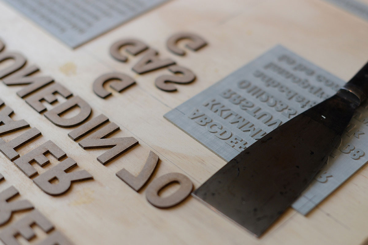 Ditchling Typographer in Residence